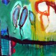 HUUR: €22 PER MAAND Renier Vaessen Acryl-80x80 cm
