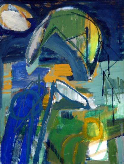 HUUR €27 PER MAAND Dorota Lipska Tempera-116x89cm