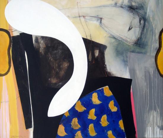 HUUR; €42 per maand Renier Vaessen Acryl-120x140cm