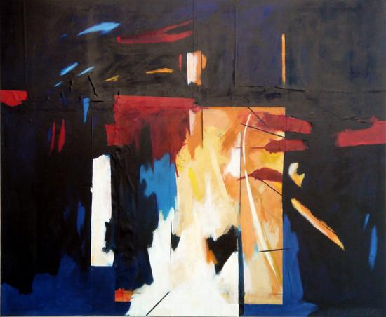 HUUR: €46 PER MAAND Renier Vaessen Acryl-150x180cm