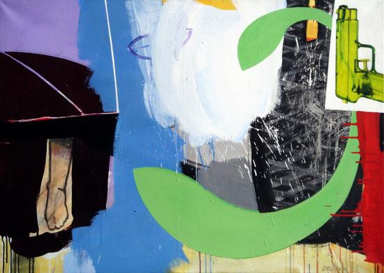 qHUUR; €40 per maand Renier Vaessen Acryl-100x140cm
