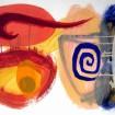 HUUR: €12 PER MAAND Renier Vaessen Acryl-75x95cm