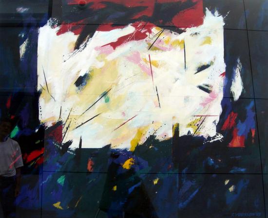 HUUR: €42 PER MAAND Renier Vaessen Acryl-150x180cm