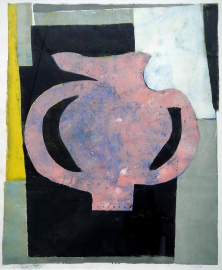 HUUR: €12 PER MAAND Piet Klazen monotype-90x80cm