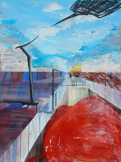 HUUR: €44,50 PER MAAND Yvonne Schroeten Acryl-160x120cm