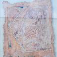 HUUR € 8 PER MAAND Marcel-van-Hoef tempera-op-papier 78x66cm.