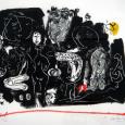 HUUR: €5,45 PER MAAND Kees Salentijn Litho 70x80cm