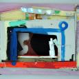 HUUR € 9 PER MAAND Rob Kars Acryl Drijfhout 55x76x8cm