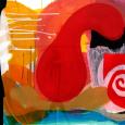HUUR: € 14,PER MAAND Renier Vaessen Acryl 80x95cm